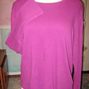 FREE WITH BUNDLE Violet Purple Stretch Shirt XXL